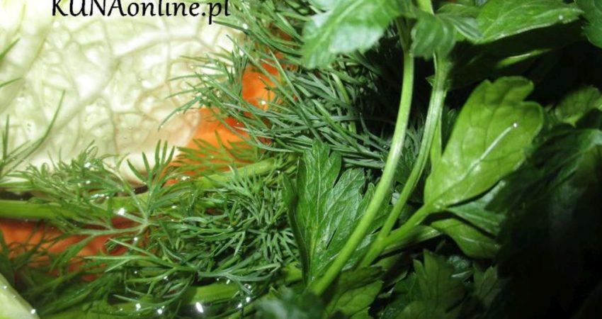 Rosół z bukietem warzyw
