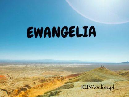 EWANGELIA 9 CZERWCA 2020 + komentarz
